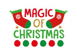 Free SVG cut file - Magic of Christmas