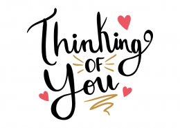 Free SVG cut file - Thinking of you