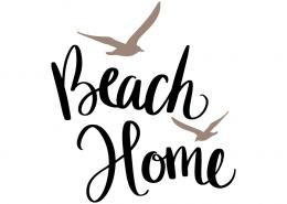Free SVG cut file - Beach Home