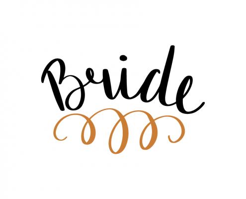 Free SVG cut file - Bride