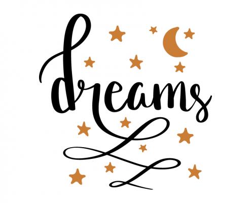 Free SVG cut file - Dreams