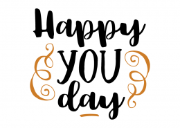 Free SVG cut file - Happy you Day
