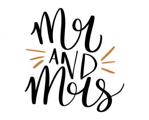 Free SVG cut file - Mr and Mrs