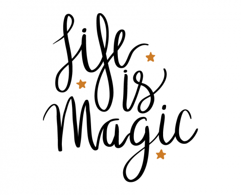 Free SVG cut files - Life is Magic