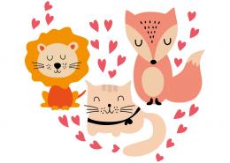 Little Animals in Love