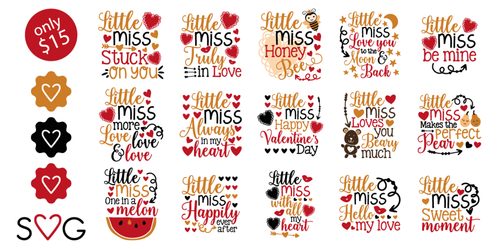 Little Miss Valentine - Including Commercial License