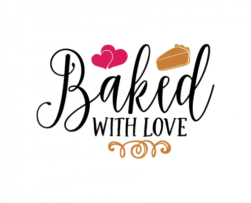 Free SVG cut file - Baked with love
