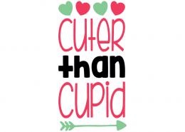 Free SVG cut file - Cuter than Cupid