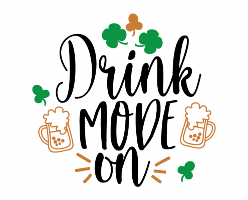 Free SVG cut file - Drink mode on