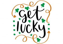 Free SVG cut file - Get Lucky