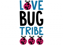 Free SVG cut file - Love Bug Tribe