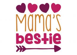 Free SVG cut file - Mama's Bestie