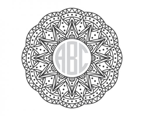 Free SVG cut file - Mandala
