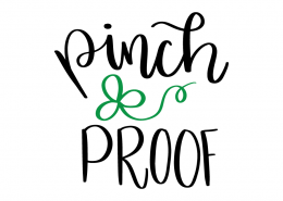 Free SVG cut file - Pinch Proof