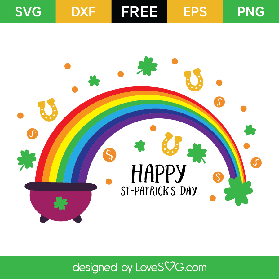 Free SVG cut file - St-Patrick's Elements