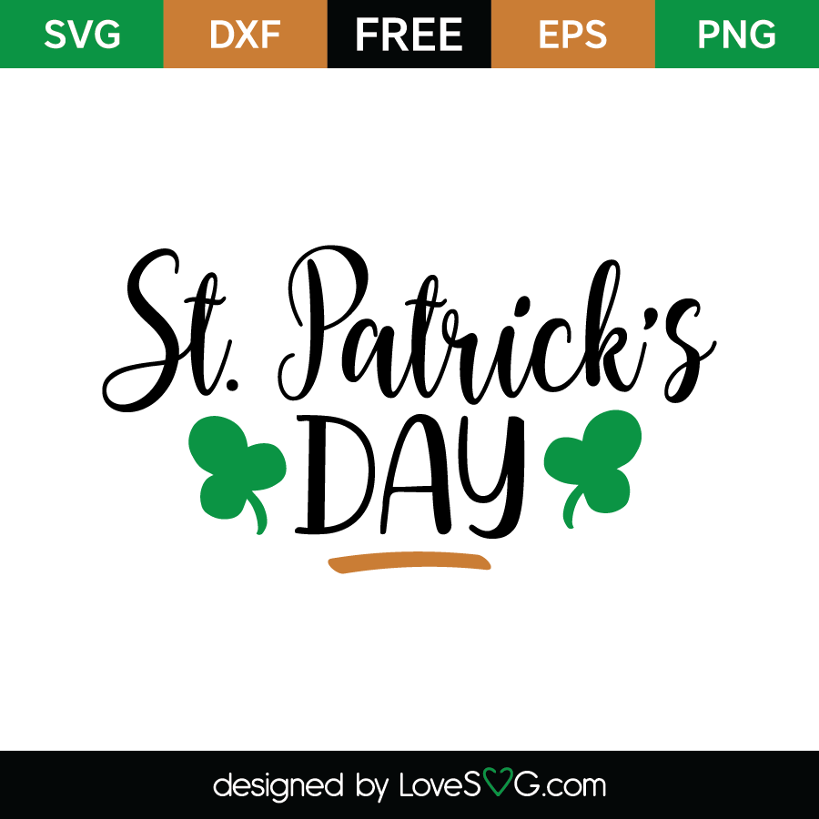 44ee9f7e Free SVG cute file - St-Patrick's Day