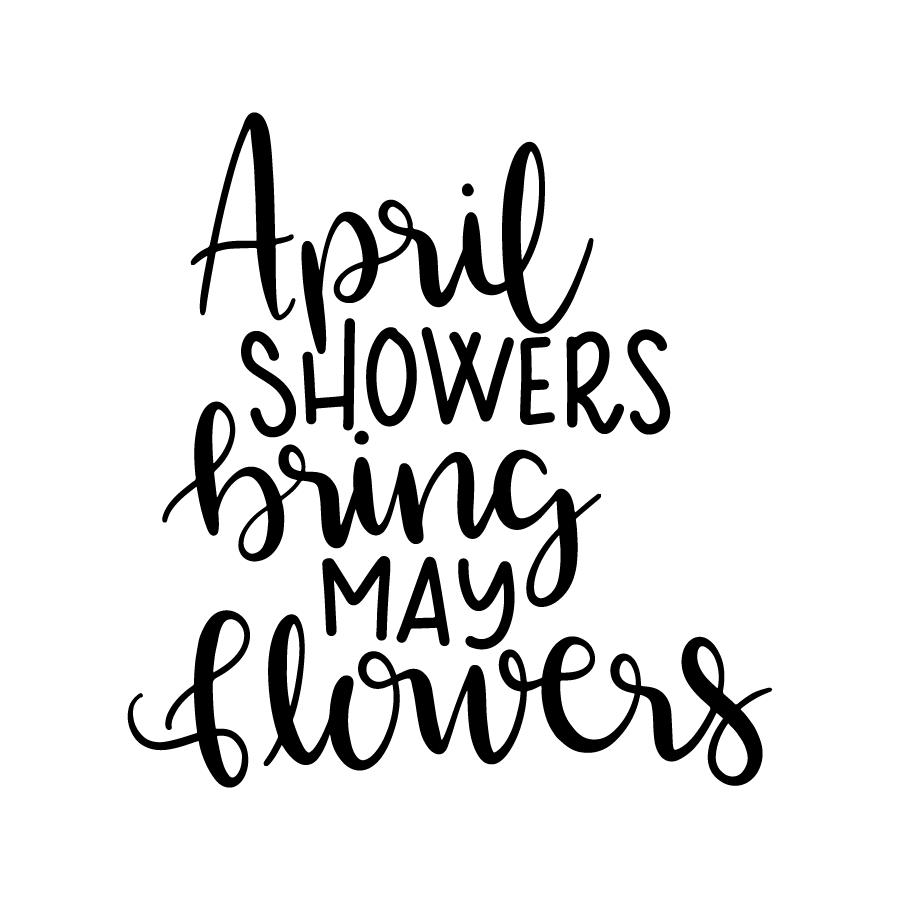 Las duchas de abril traen flores de mayo Lovesvgcom-9597