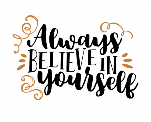 Free SVG Cut File - Always believe in yourself
