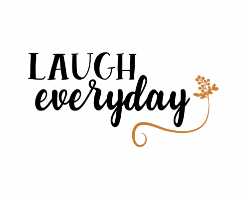 Free SVG Cut File - Laugh everyday
