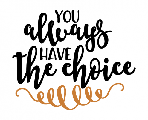 Free SVG Cut File - You always have the choice