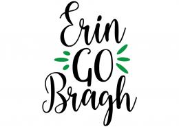 Free SVG cut file - Erin go Bragh
