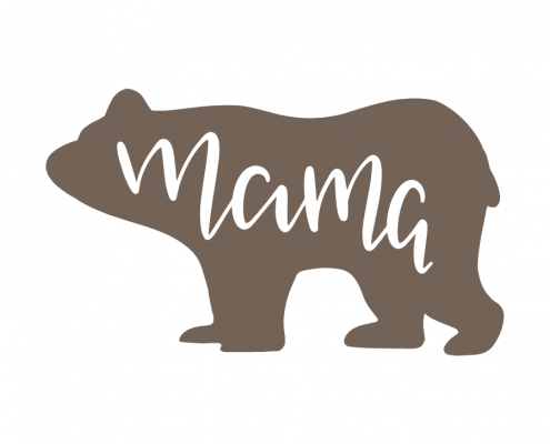 Free SVG cut file - Mama Bear