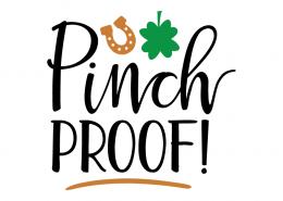 Free SVG cut file - Pinch proof