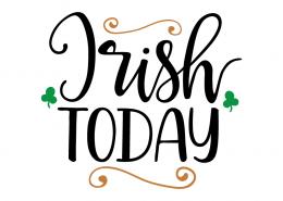 Free SVG cute file - Irish Today