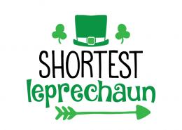 Free SVG cute file - Shortest Leprechaun