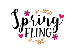 Free SVG cute file - Spring Fling
