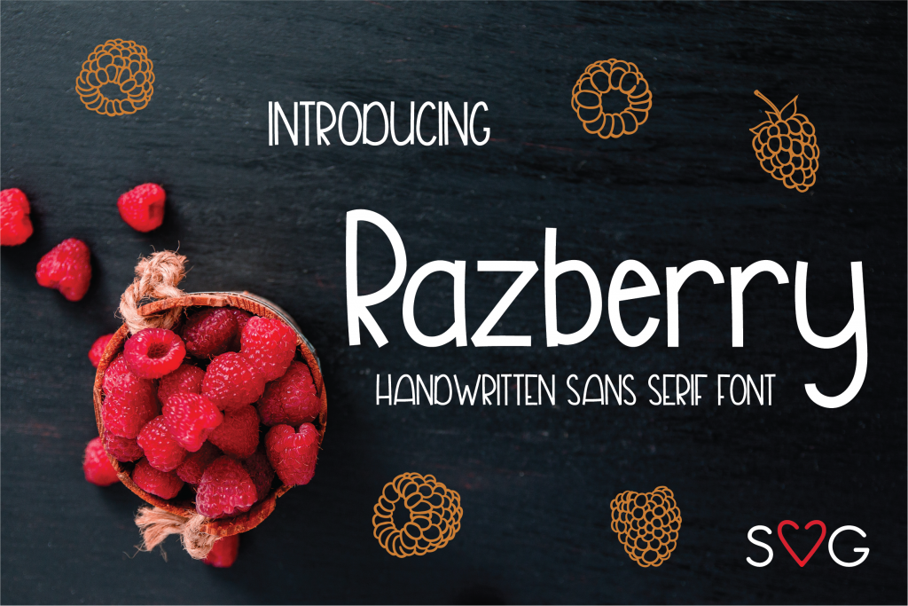Razberry Font