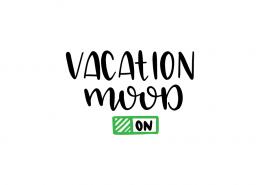 Free SVG cut file - Vacation Mood