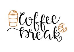 Free SVG cut files - Coffee Break