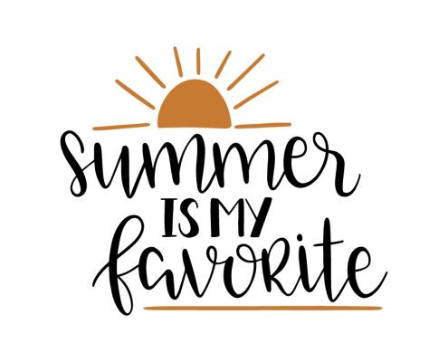 Free SVG cut files - Summer is my Favorite