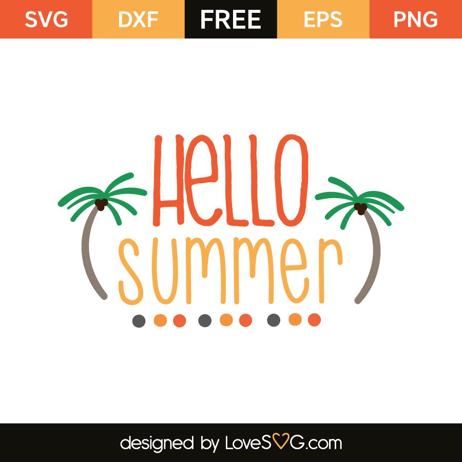 Hello summer | Lovesvg.com