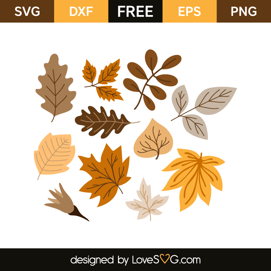 Autumn Leaves Lovesvg Com