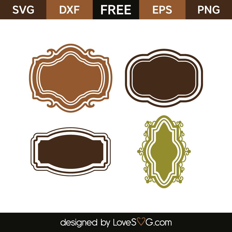 Decorative Frames   Lovesvg.com