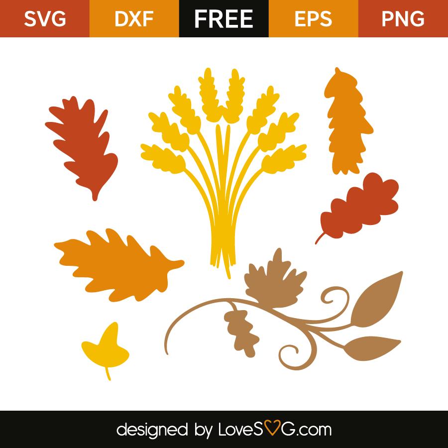 Fall Leaves Lovesvg Com