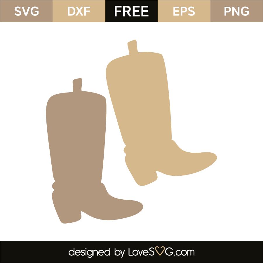 5c0a44de60015 Cowboy boots | Lovesvg.com