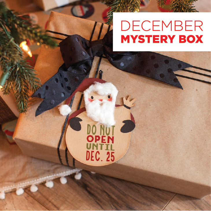 Shop new mystery box - Cricut!