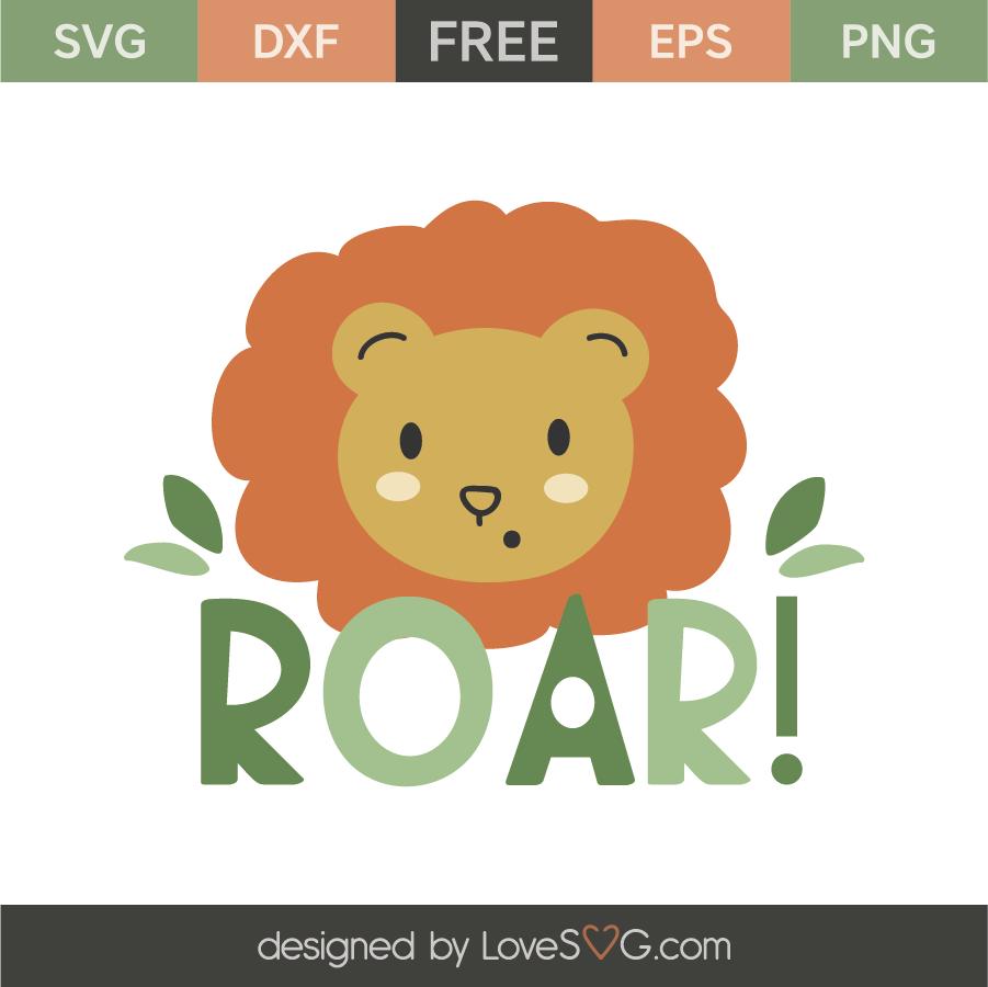 Download Cute little lion | Lovesvg.com