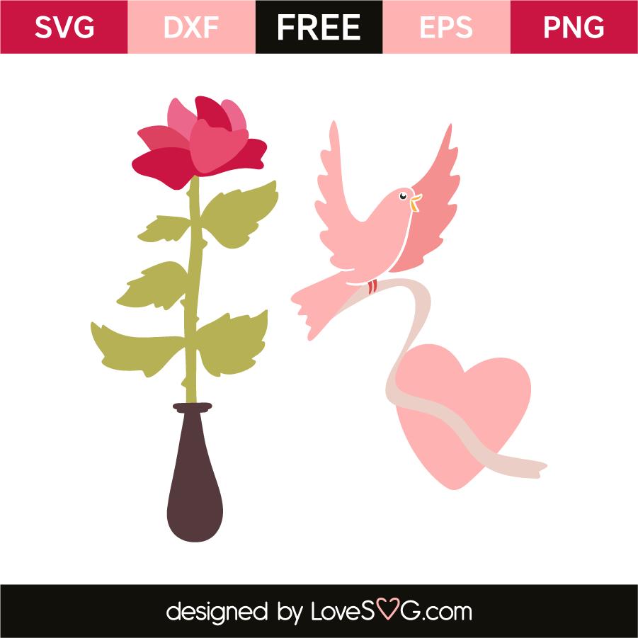Valentine S Day Elements Lovesvg Com