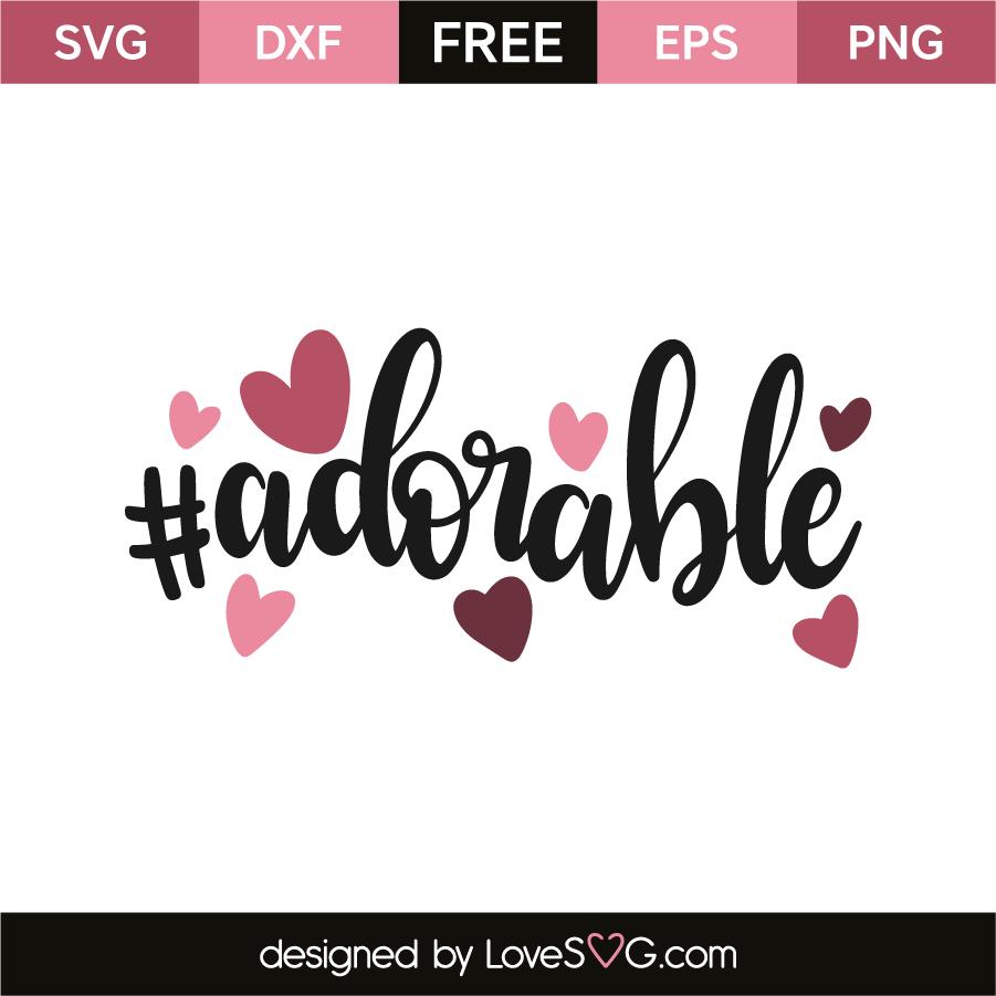 Download #adorable | Lovesvg.com