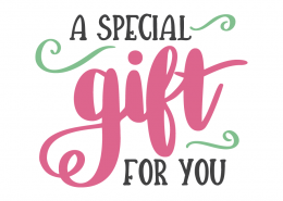 Get a special free gift for you!
