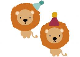 Birthday lions