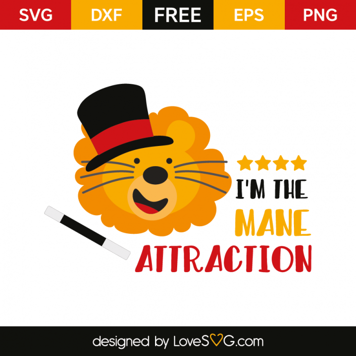 I'm the mane attraction