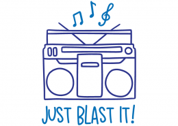 Just blast it!