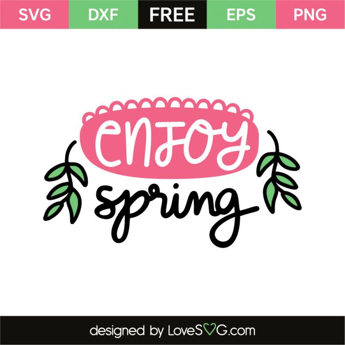 Enjoy spring