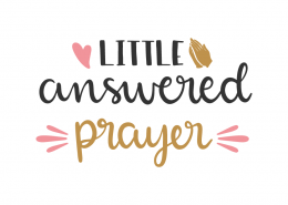 Little answered prayer