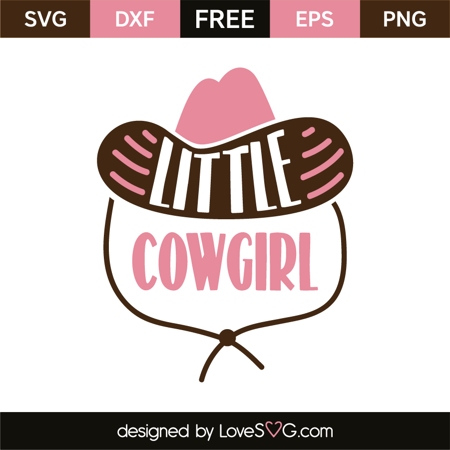 Little cowgirl | Lovesvg.com